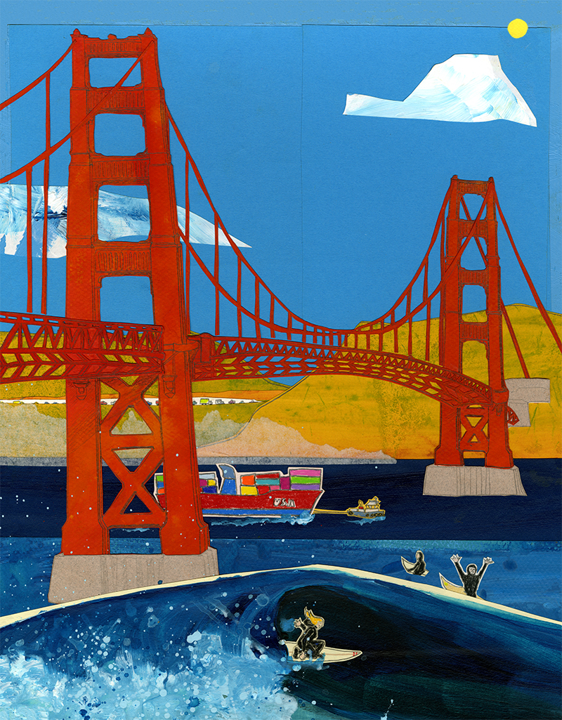 11x 14 GG Bridge LP4 (LP4)