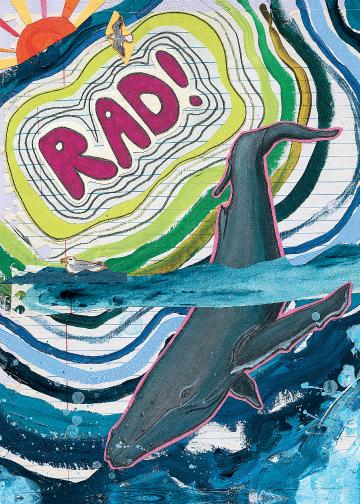 Rad C43 (C43) Greeting inside: Blank inside