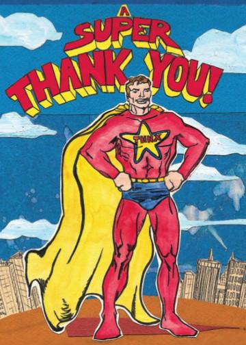 Super Thanks C89 (C89) Greeting inside: Blank inside