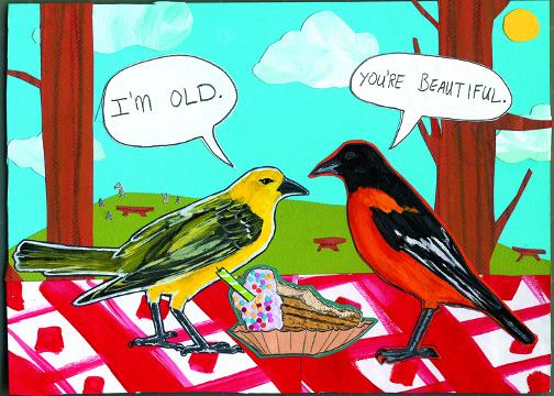 You're Beautiful C70 (C70) Greeting inside: Happy Birthday beautiful!