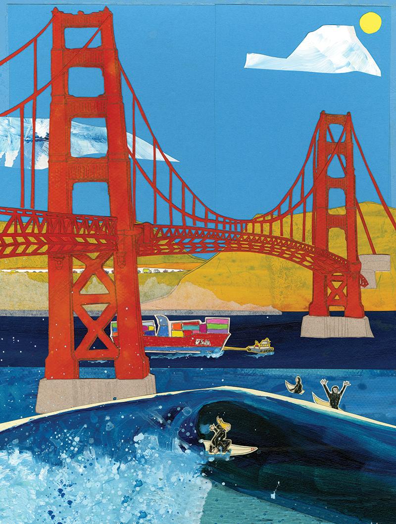 GG Bridge C116 (C116) Greeting inside: Blank inside