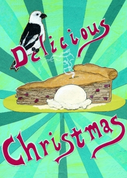 Delicious Christmas CH4 (CH4) Greeting inside: Blank inside