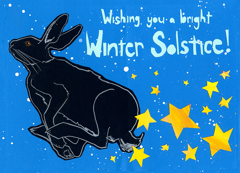 Winter Solstice CH12 (CH12) Greeting inside: Blank Inside