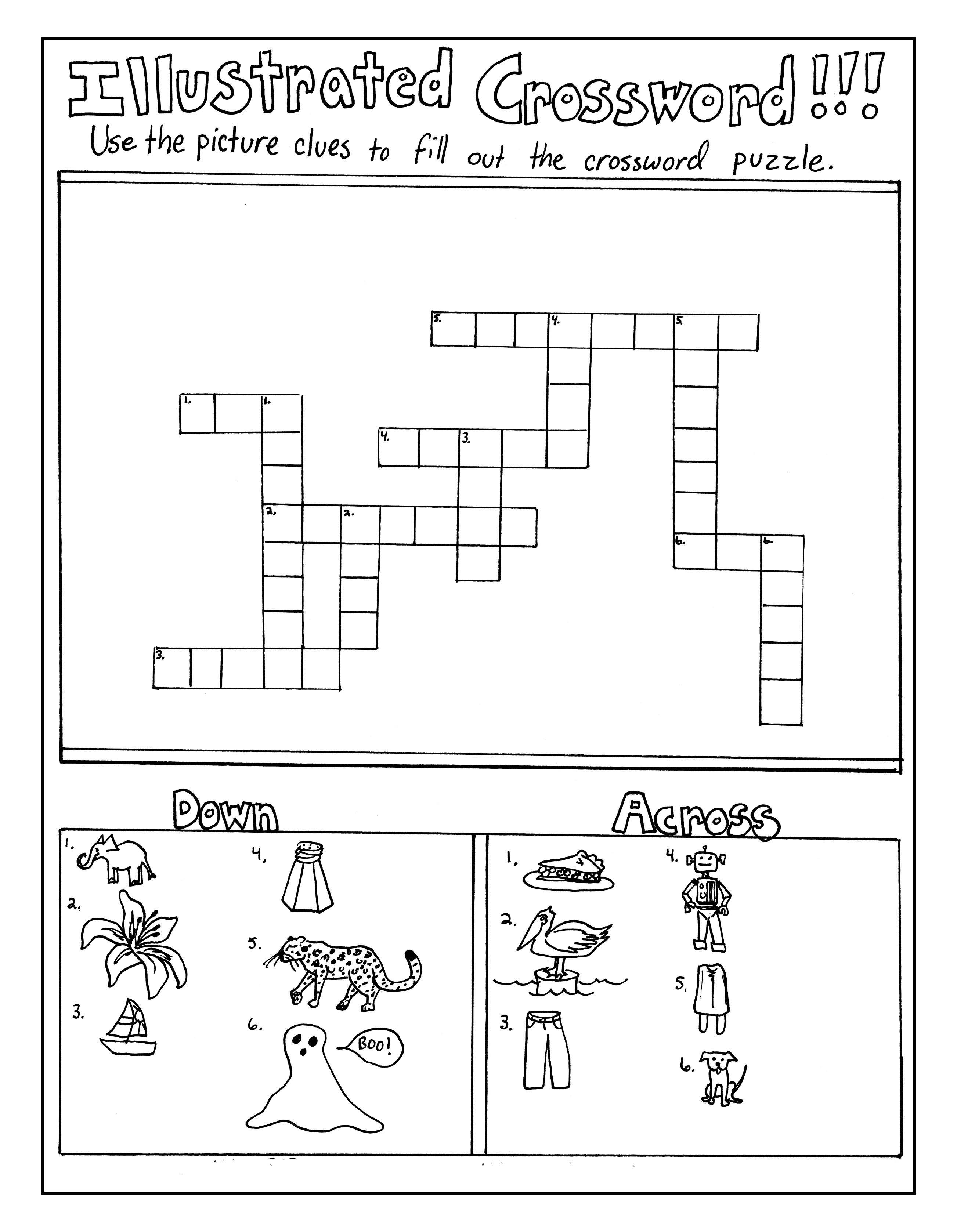 Illustrated Crossword (AB1)