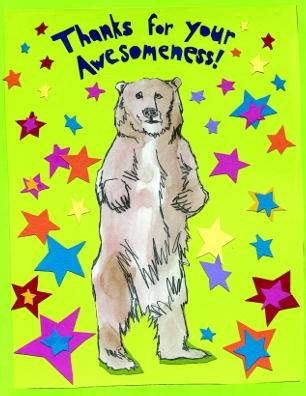 Awesome Thanks Bear M17 (M17)