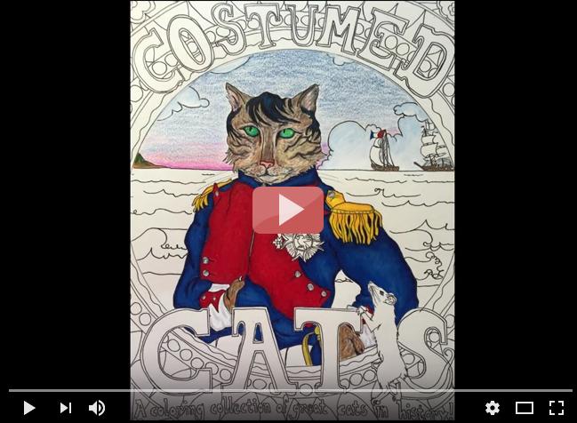Napoleon Bonacat - a morphing video