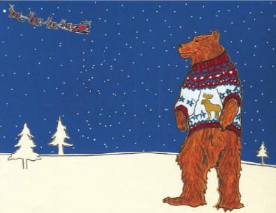 Bear Santa H16 (H16)