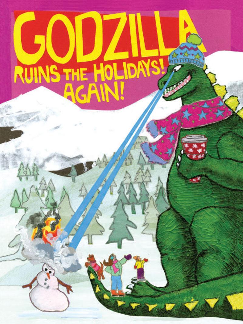 Godzilla Holiday H23 (H23)