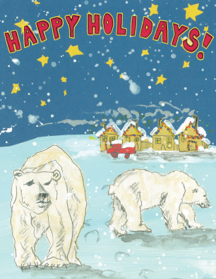 Holiday Polar Bears H8 (H8)