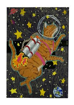 Astrocat Magnet M2 (M2)