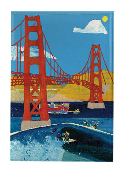 Golden Gate Bridge Magnet M4 (M4)