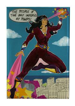 Superwoman Magnet M1 (M1)