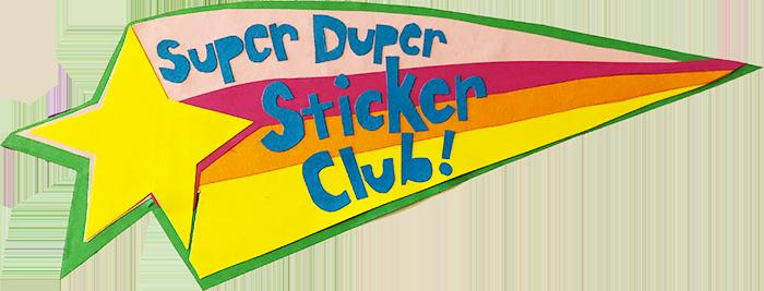 Super Duper Sticker Club shooting start