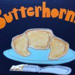 sunde white illustrates her butterhorn recipe