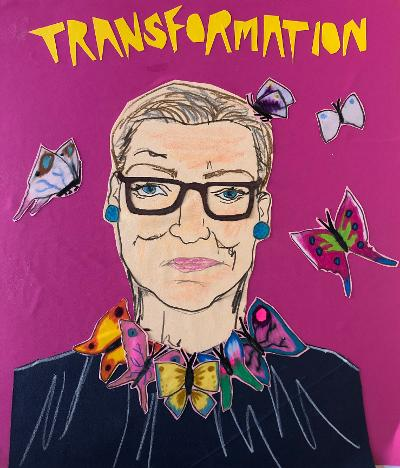 Illustration of RBG by Sunde White