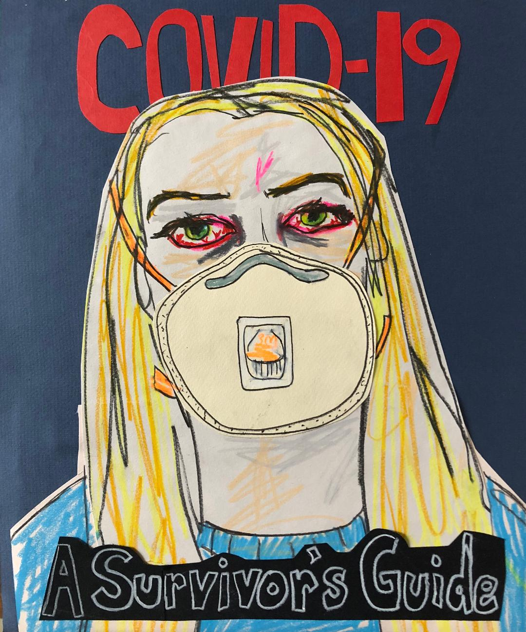 Sunde White writes and illustrates about her experience having COVID-19