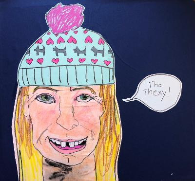 Sunde White illustrates her essay about her bad teeth