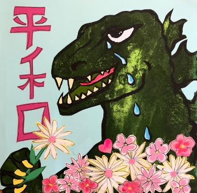 Sunde White writes and illustrates the traumatic history of the creation of Godzilla
