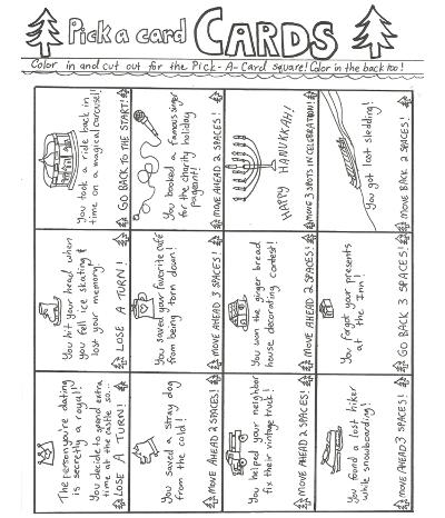 sunde white illustrated crds for her hallmark channel board game