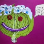 Sunde White Illustrates her essay about iceberg lettuce