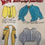 Sunde White illustrates an essay about weird Anthropologie sweaters