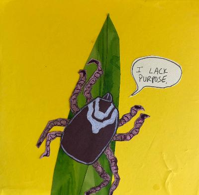 Sunde White illustrates an essay about how lame ticks are